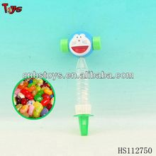 doraemon ring hammer+whistle toy candy