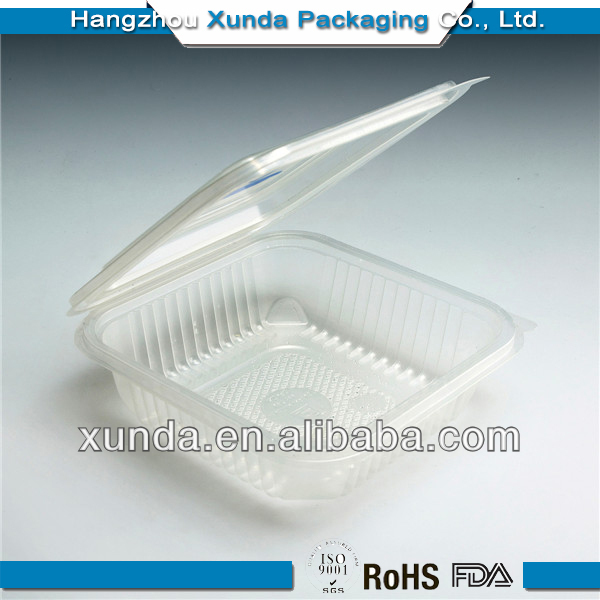 Newest clear plastic soap packaging boxes