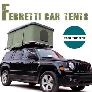 Overland 4wd Mini ultra-light weight fiberglass hard shell car Roof Top Tent