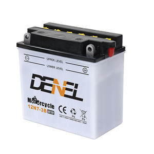 12V 7AH batteries of motorcycle parts importers
