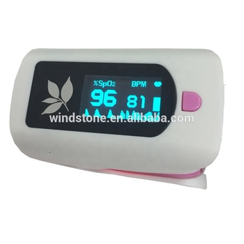 CE approved OLED Screen Fingertip Pulse Oximeter Oximetry Blood Oxygen