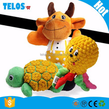 New arrival pet cartoon plush squeaky toys