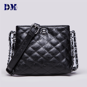 classic quilted patent leather ladies top quality handbag
