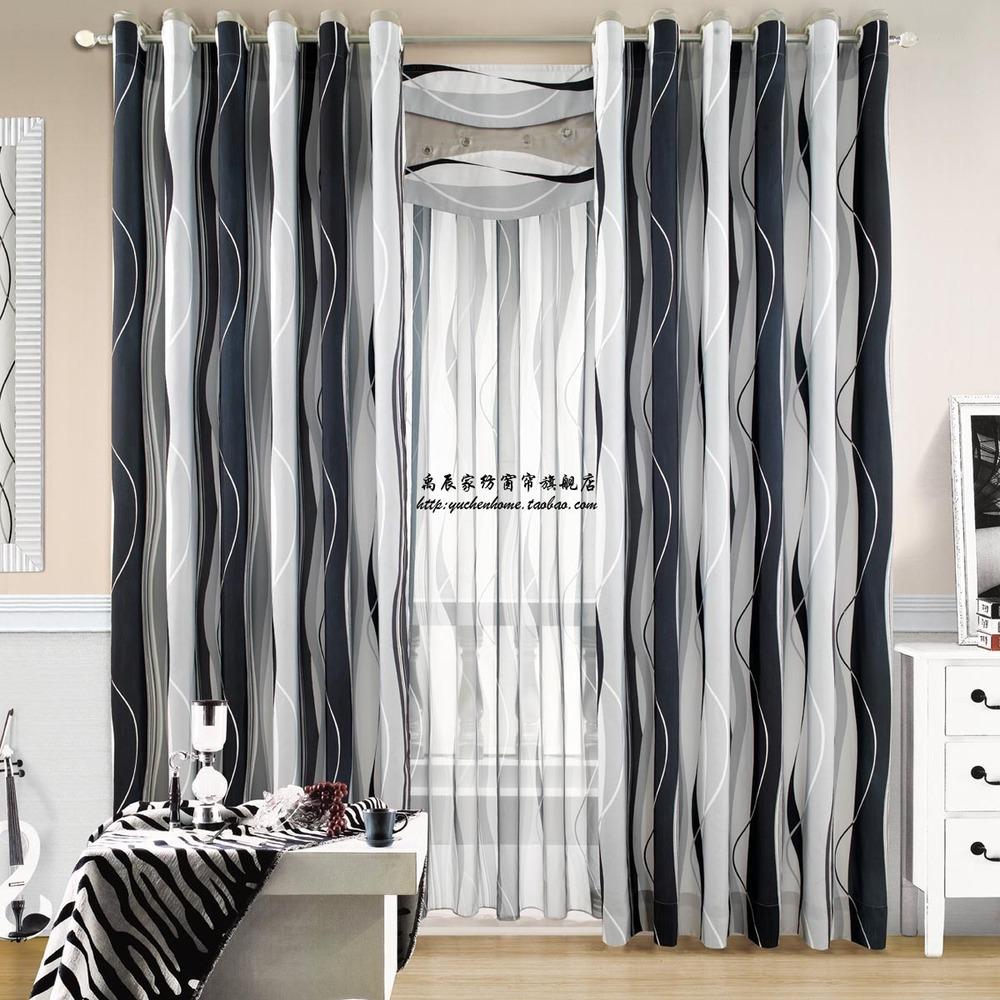 rideaux noirs et blancs 28 images rideaux occultants. Black Bedroom Furniture Sets. Home Design Ideas