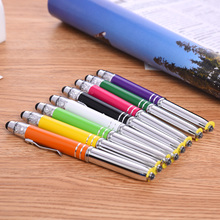 aluminum metal pen with high sensitivity capacitive stylus touch pen for galaxy s4 and samsung galaxy s3 mini