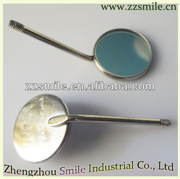 dental mouth mirrors stainless steel plane dental mirrors