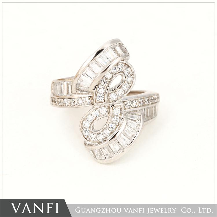 2018 Classic Sri Lanka Ladder Diamond 925 Silver Ring Design Buy