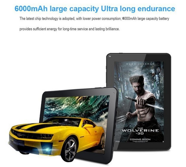 10.1 inch tablet pc Allwinner A33 quad Core 1GB 8GB Android Tablet 10 inch