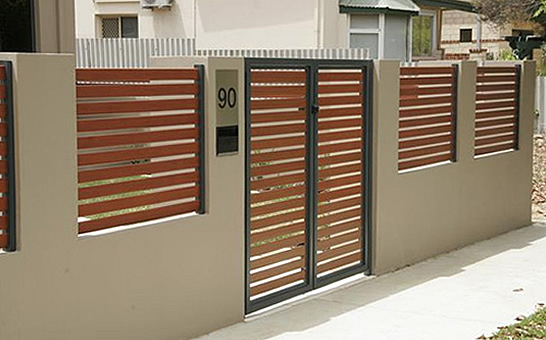 Aluminium Gate For House Main Designs