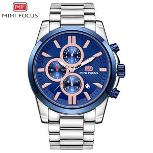 Mini Focus Analog Men Quartz Wrist Watch with Cheap Price