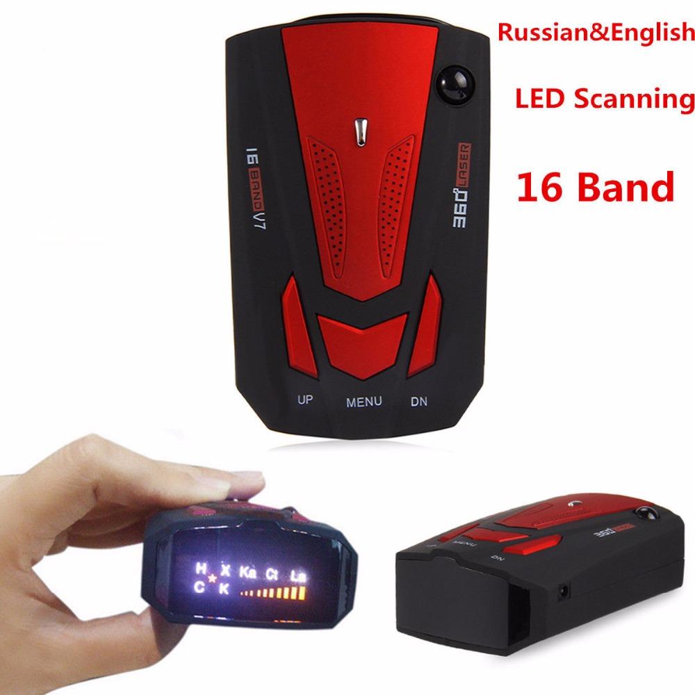 d tecteur de radar de voiture 360 degr s laser d tecteur de vitesse w anglais russe voix bo te. Black Bedroom Furniture Sets. Home Design Ideas