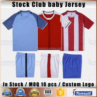 Kids soccer jersey make your own logo and name soccer uniform baby jersey comfortable fabric thai quality sport wear sets