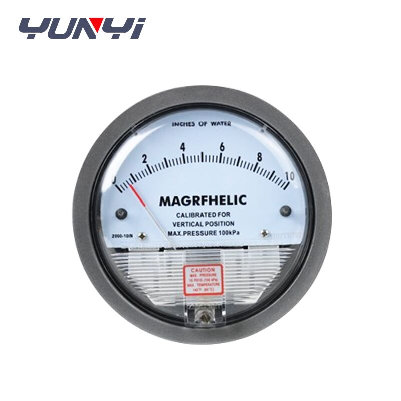 low cost mini air differential pressure gauge
