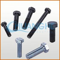 alibaba express color zinc steel hex socket screws with full thread