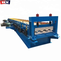 Galvanized Steel Floor Decking Cold Roll Forming Machine