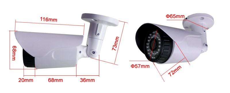 Cctv Suverveillance Full Hd Ahd Cctv Camera Bullet Camera 720p ...