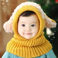 2014 Baby Boys Girls Children Knit Winter Warm Baby Snowman Hat SV012641