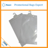 Soft PVC Plastic Underwear Packing Zipper Bags With Hanger