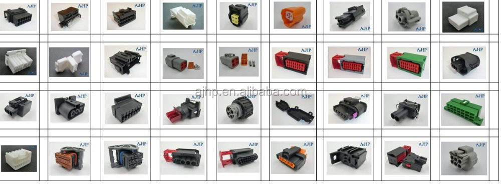 4pin Female Waterproof Auto Connector Dj7049 2 2 21 And