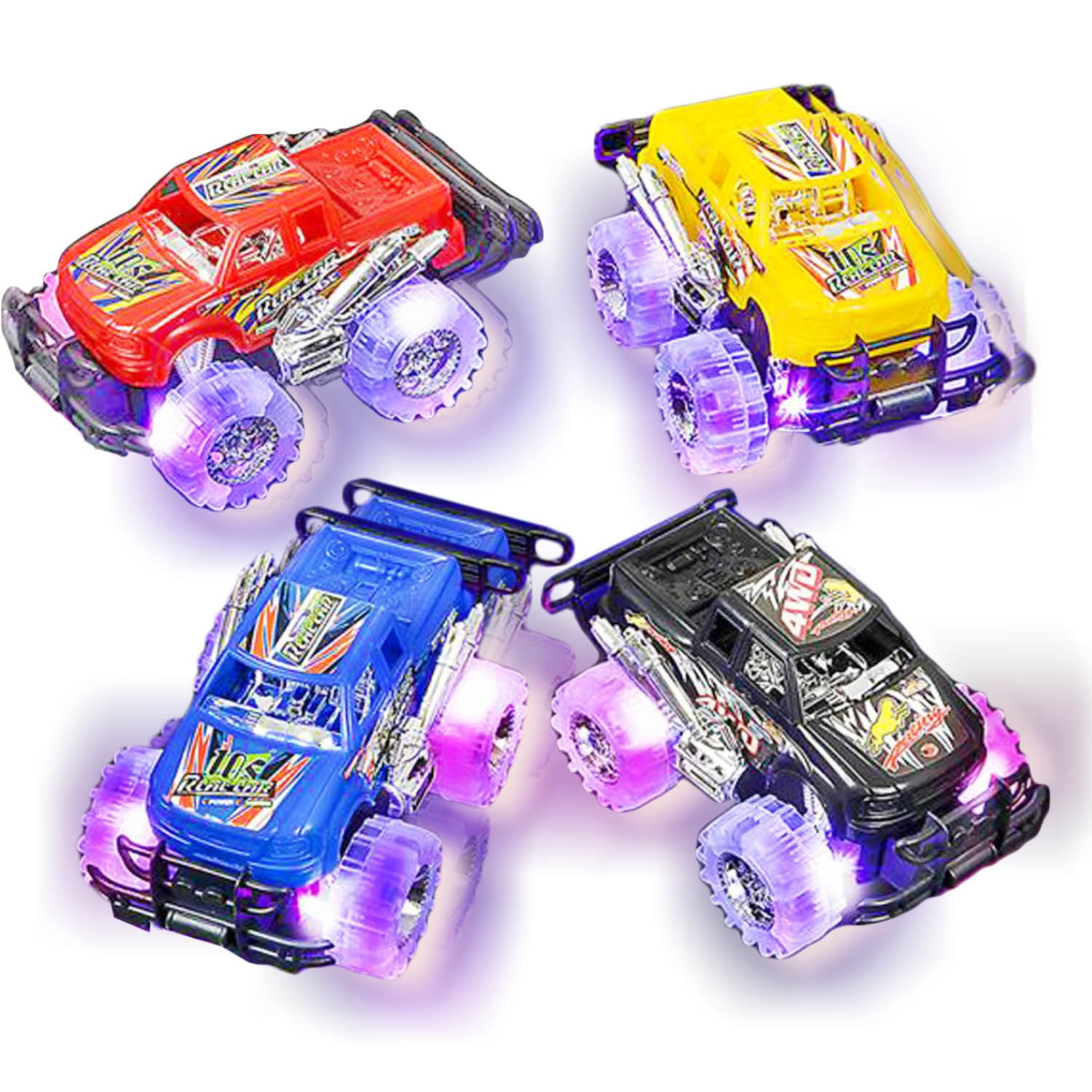 toy cars and trucks. Get Quotations · Light Up Monster Truck Set For Boys And Girls By ArtCreativity - Includes 2, Toy Cars Trucks M