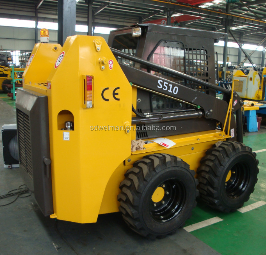 S510 Skid steer loader, vendita calda skid steer loader, mini skid loader