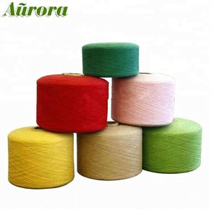 Polyester Cotton mixed Carpet Yarn with good quality
