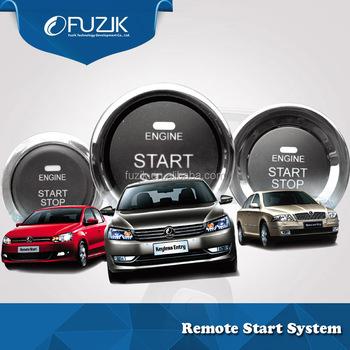 Car Alarm Remote Start Keyless Entry Complete Power Door Lock Kit