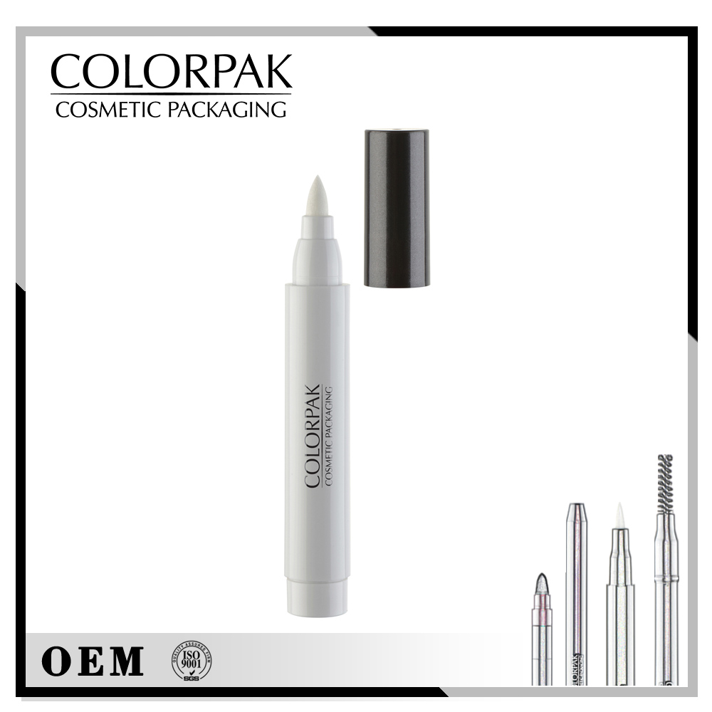 chubby make-up Cosmetic pencil packaging empty Liquid Eyeliner Nail Art pencil for beauty