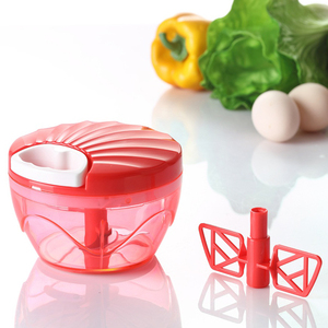 Multi-purpose Kitchen Tools Plastic Vegetables Speedy Chopper