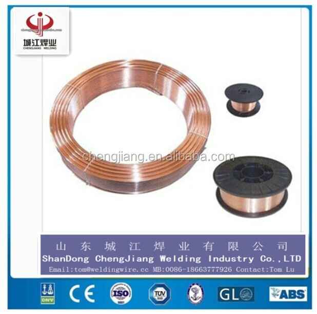 Factory Manufacturer(ISO CIQ AWS approved)! c02 welding wire & mig welding wire ER70S 6 sg2(free sample)