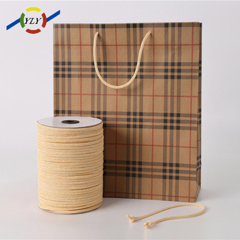 Wholesale Customized 3mm-5mm PP Braided Rope for shopping handle bag