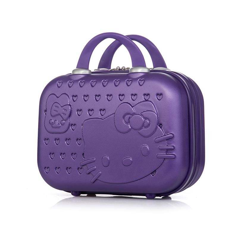 e2c13f6bc2f5 Get Quotations · cosmetic bags small boxes Travel Bag Male de viagem com  rodinha Hello kitty suitcase Cute little