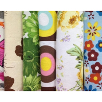 COTTON WOVEN 58'' PRINTED CANVAS FABRIC FOR UPHOLSTERY/CURTAIN/BED