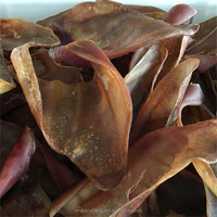 dental dog treats -dried pig ears