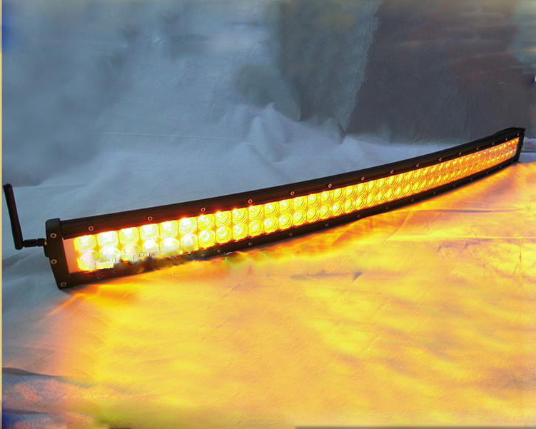 50inch genuine cree 288w amber led light bar for trucks atv
