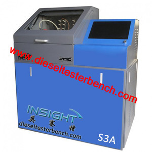 Diesel fuel injector test bench generate new QR Codes for injectors