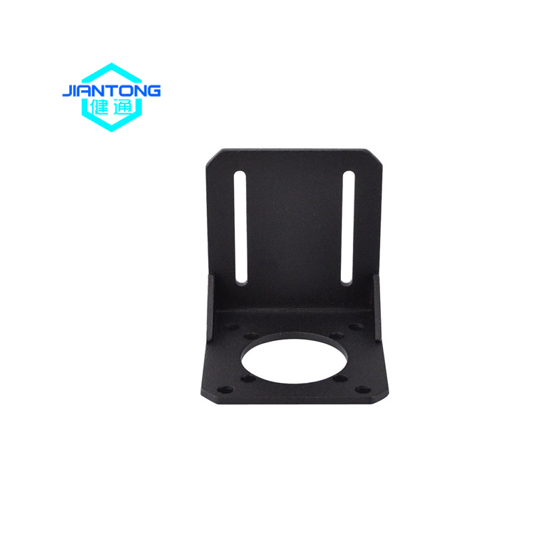 e-coating black small sheet metal steel flat angle bracket