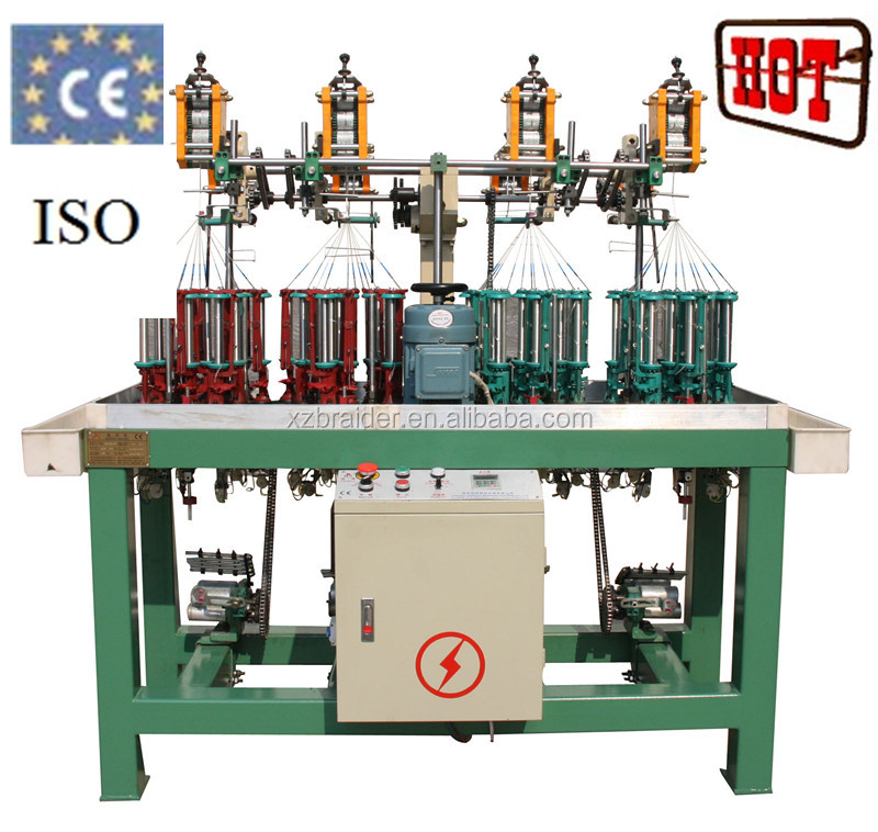 17 carriers lace and ribbon/elastic band making machine used for decoration/fashion garment