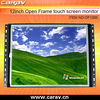 "12""(4:3)multi touch open frame industry LCD monitor with resisitive touch screen panel(OF1200)"