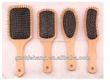 guangzhou factory manufacturer boar bristle wooden paddle hair brush