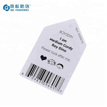 Factory price custom design paper hang tag, hang tag
