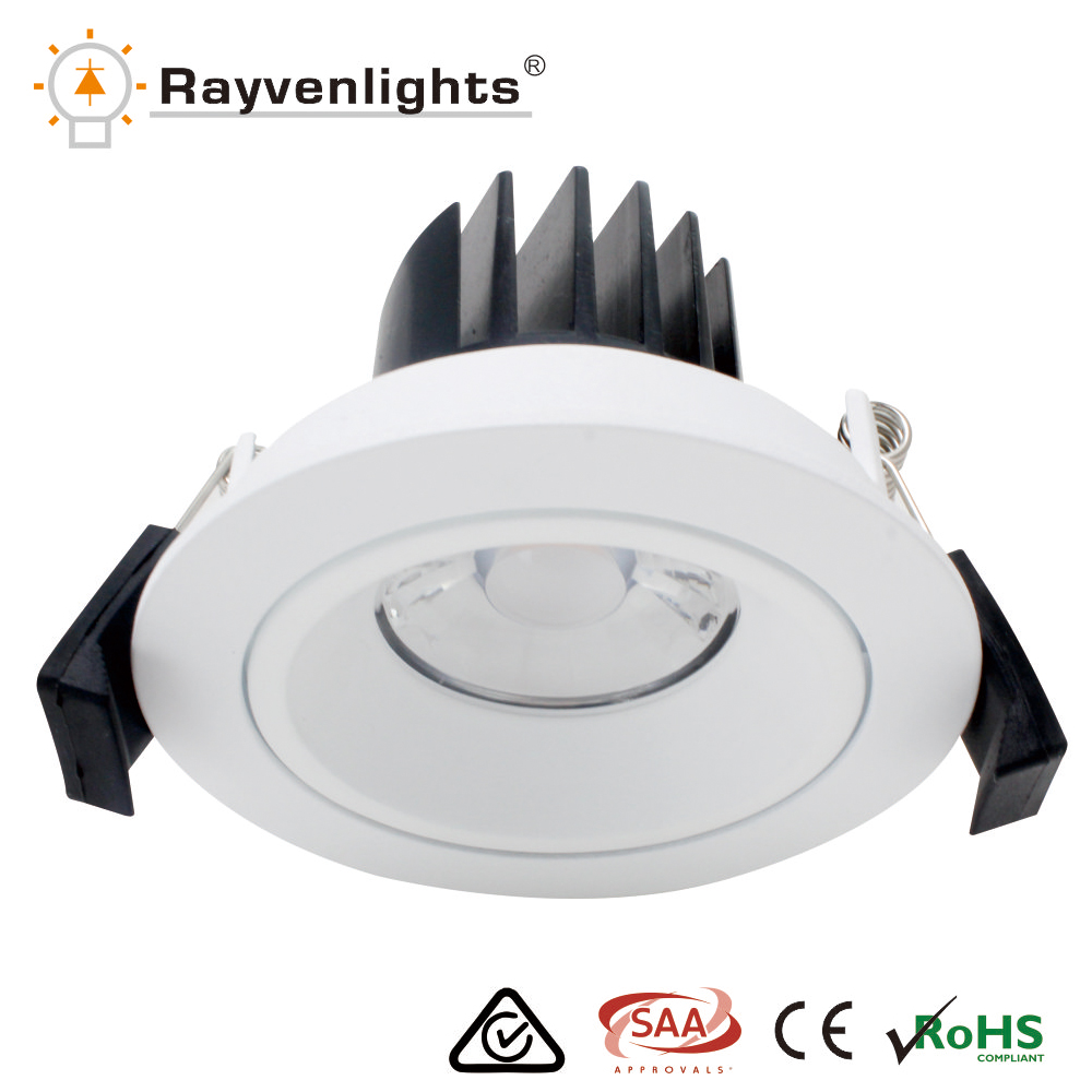 OEM ODM 10w cob led downlight 75mm cutout dimmable E27 ip65
