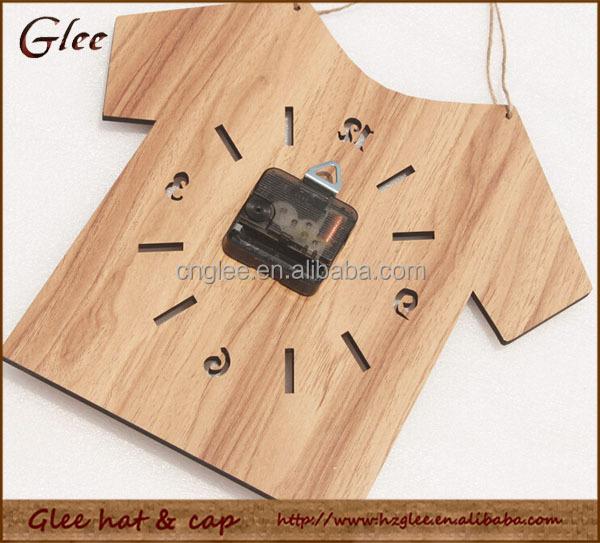 shirt design wooden fancy handmade wall clock buy wall clock wall clock framed wood crafts
