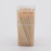 Custom logo square bottled bamboo toothpicks