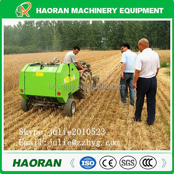 Most popular 25kgs bales 800mm mini round hay balers in China