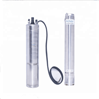 solar system water pump inverter submersible  pump for deep well