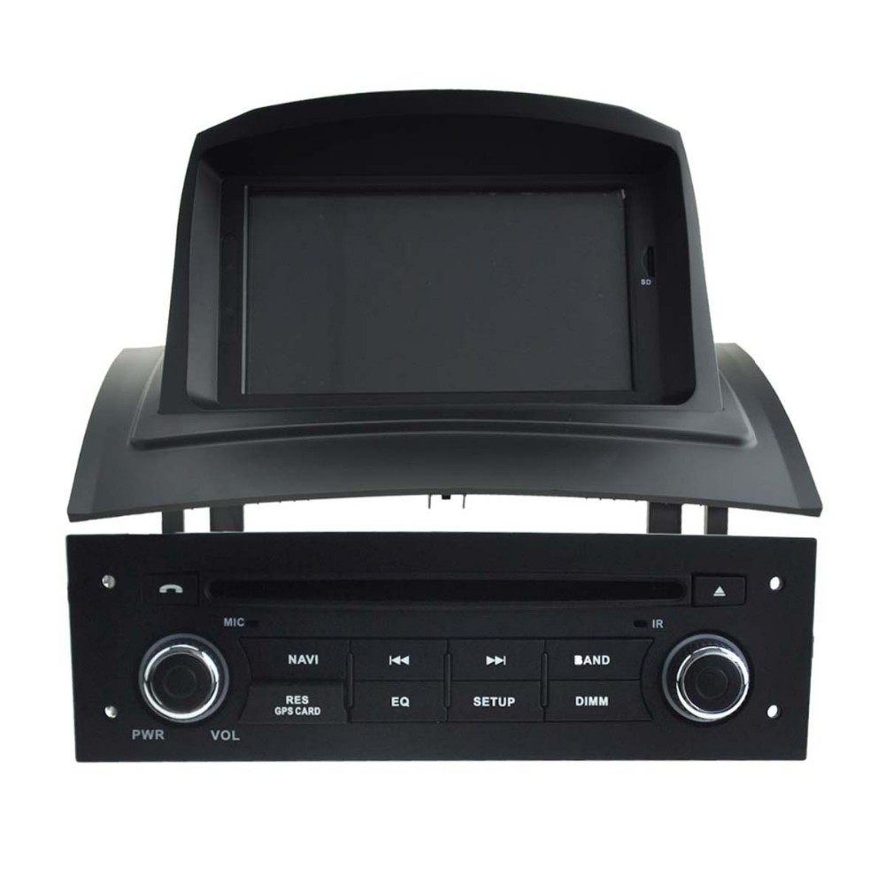 Android 5.1.1 for Renault Megane II car radio/stereo dvd player with 1024*600 HD Screen gps 3g wifi mirror link