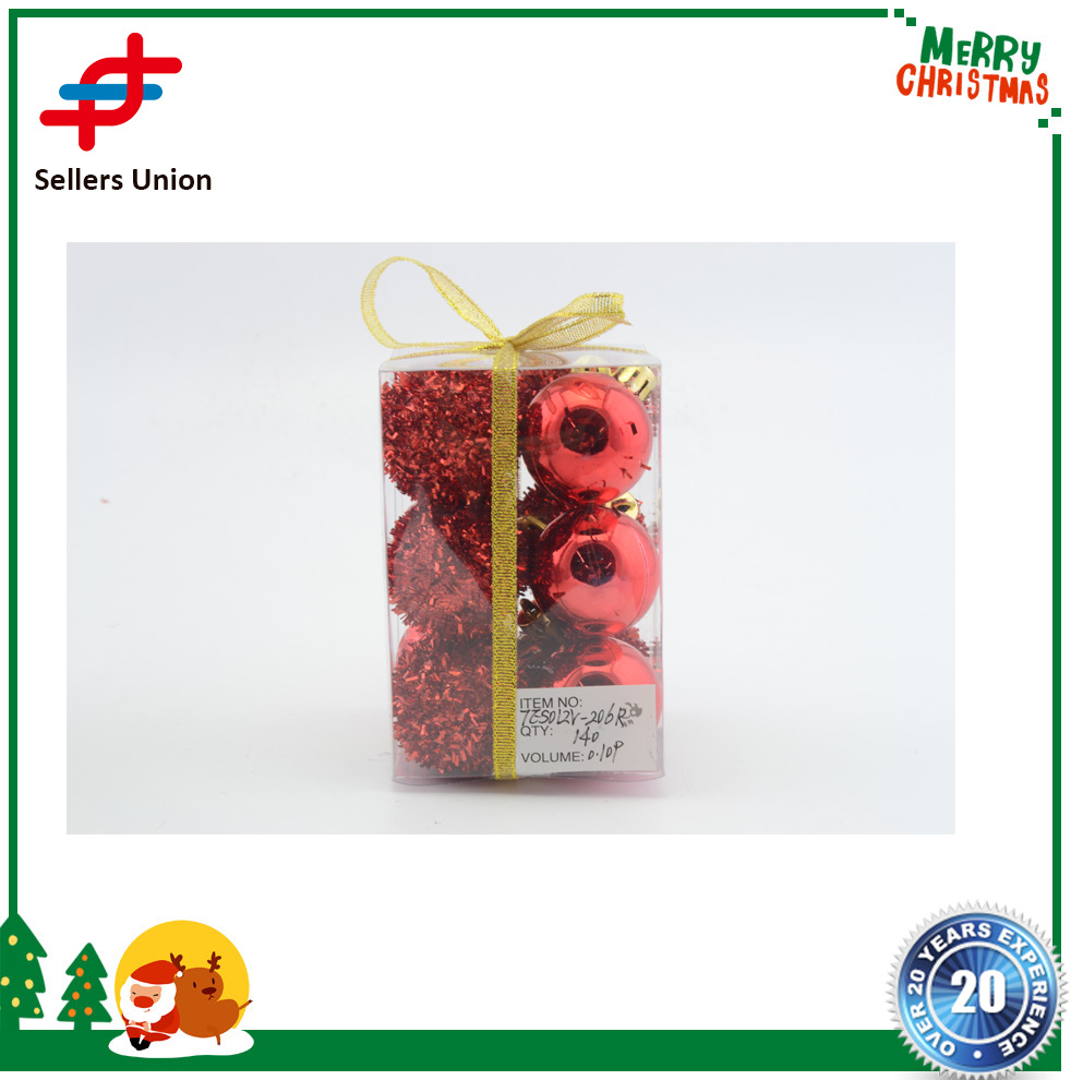 Factory out Xmas Decorative 4cm 6cm New Year Christmas Tree Decorations Christmas Balls for Decor