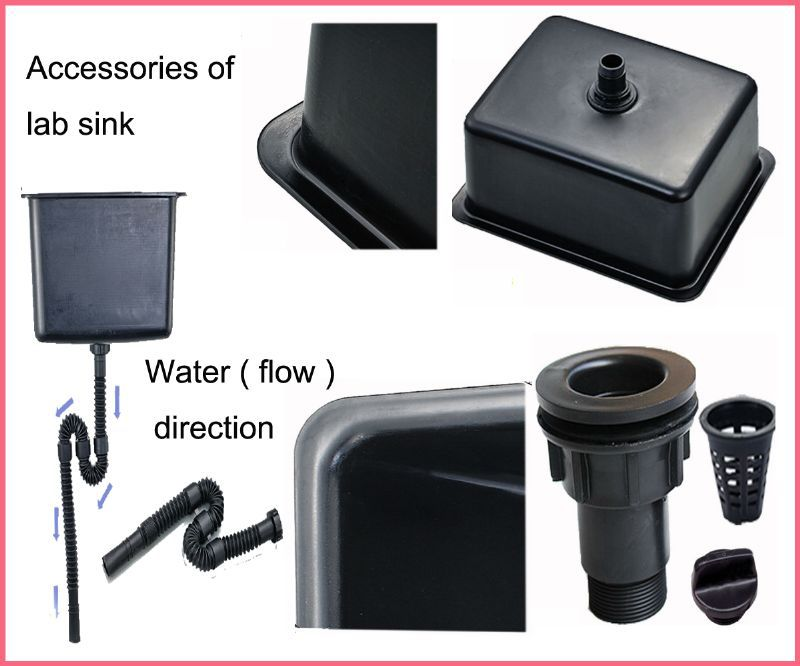 Acid Alkali Resistance Polypropylene Lab Water Sink/water Channel - Buy Lab  Water Basin,Plastic Water Channel,Chemical Resistant Sinks Product on