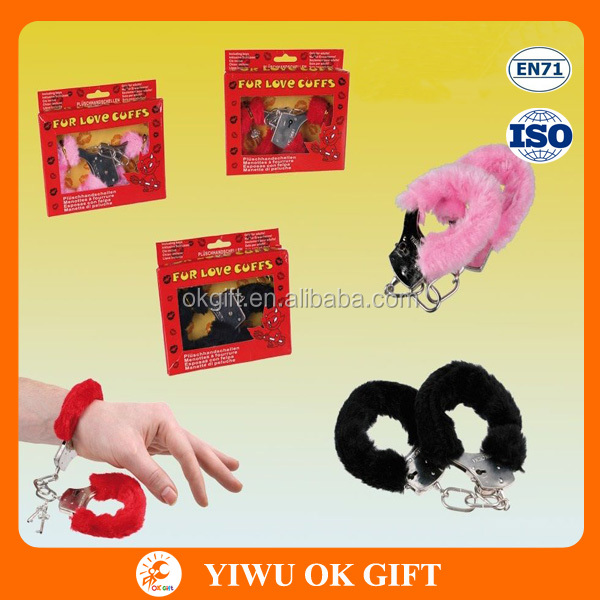 Cheap Adult Toys Plush Funny Handcuffs For Hen Party